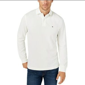 Tommy Hilfiger Texture Rugby Polo Shirt - Men's